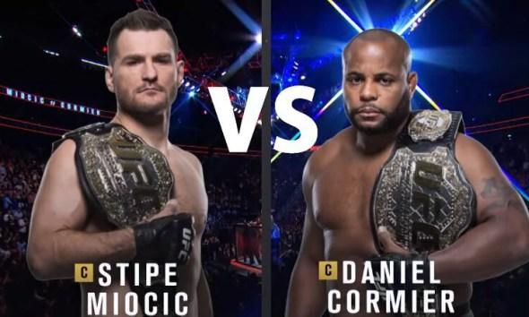 Daniel CORMIER vs Stipe MIOCIC - Full Fight Video - UFC