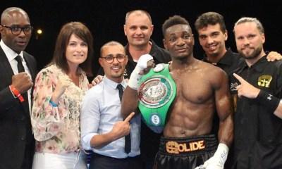 Toujours champion WBC Youth, Christian MBILLI signe un nouveau KO ! VIDEO