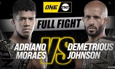 Adriano Moraes vs. Demetrious Johnson - Replay Vidéo du combat - ONE Championship