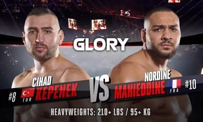 Nordine Mahieddine vs Cihad Kepenek - Replay vidéo du combat - GLORY 74