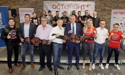 OCTOFIGHT 2019 - Retrouvez la Fight Card complète pour ce samedi 4 mai