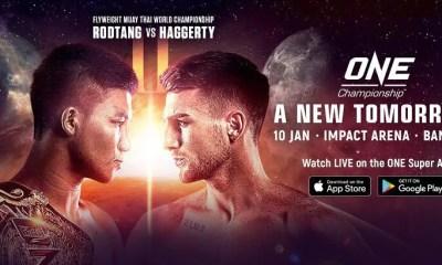 ONE Championship - A New Tomorrow - Direct Live Stream et Résultats
