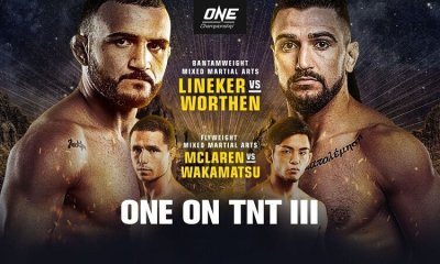 ONE on TNT 3 Résultats - Holzken et Lineker s'imposent avant la limite