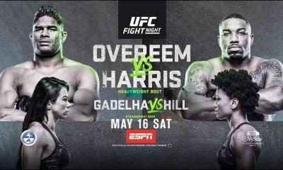UFC on ESPN 9 Résultats - Overeem vs Harris