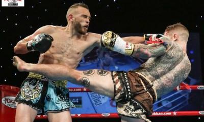 Muay Thai - Jérémy PAYET stoppe Craig DICKSON à la 4eme - VIDEO