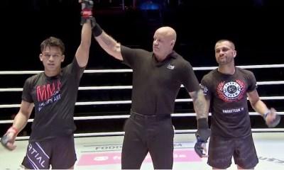 Fabio Pinca s'incline pour sa première en MMA