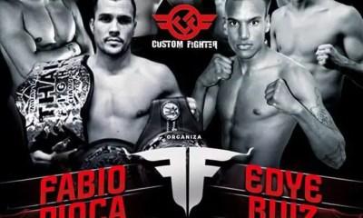 Fabio Pinca vs Edye Ruiz - Full Fight Video - TOP FIGHT MADRID