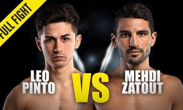 Léo Pinto vs Mehdi Zatout - Combat de kickboxing - Replay Vidéo