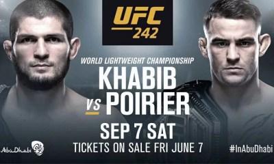 UFC 242 - Khabib NURMAGOMEDOV vs. Dustin POIRIER pour l'unification des ceintures