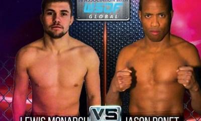 Jason PONET vs Lewis MONARCH - Full Fight Video - ICE FC 16