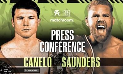 Canelo vs Saunders - Suivez la conférence de presse en direct