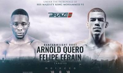 MMA - Arnold QUERO et Abdoul ABDOURAGUIMOV au BRAVE 14 au Maroc.