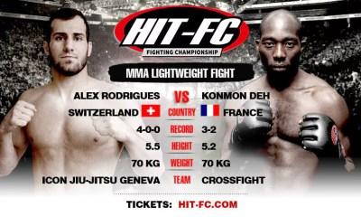 Alexandre Rodrigues vs Konmon Deh - Full Fight Video - HIT FC