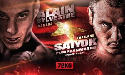 Saiyok Phumpanmuang vs Alain Sylvestre - Full Fight Video - THAI FIGHT
