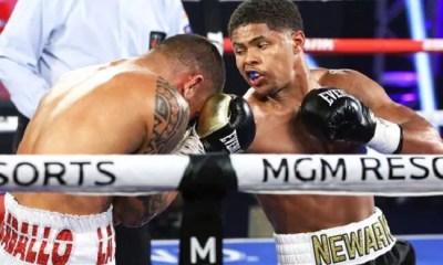 VIDEO - Shakur Stevenson s'impose par TKO sur un terrible Body Shot
