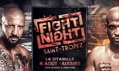 FIGHT NIGHT ST TROPEZ: TONY et SINISTRA de nouveau sur le même ring.... 11 ans après !