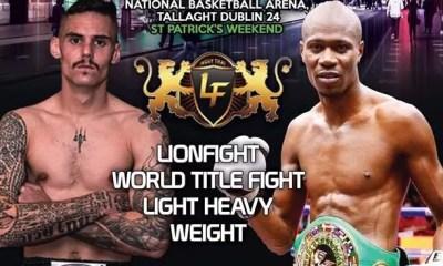 Hamza NGOTO vs Toby SMITH à Dublin pour la ceinture du Lion Fight