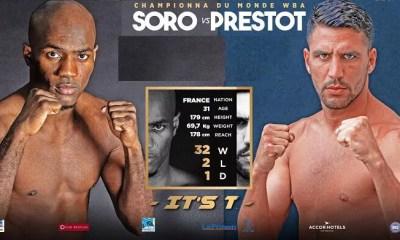Michel SORO vs Anderson PRESTOT - Full Fight Video - Boxe