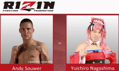 Andy Souwer vs Yuichiro Nagashima - Full Fight Video - Rizin FF