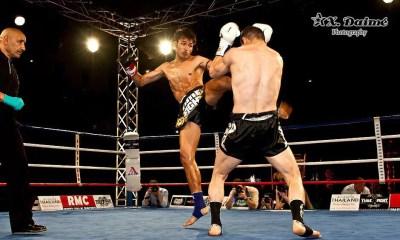 Hamza NGOTO vs Super X - Muay Thai Fight - THAI FIGHT PARIS