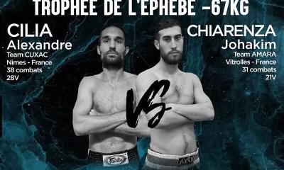TEKB 16 - Alexandre CILIA vs Johachim CHIARENZA pour le Trophée de L'Éphèbe 2019