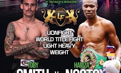 Hamza Ngoto vs Toby Smith - Replay vidéo du combat - Muay Thai
