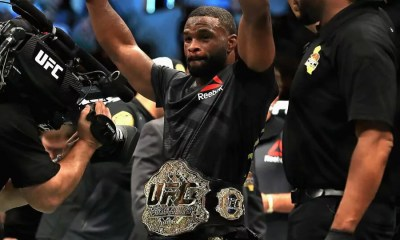 UFC 228 - Tyron WOODLEY stoppe Darren TILL au second round - VIDEO