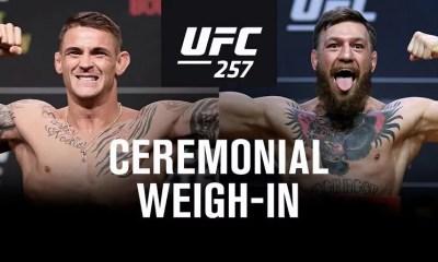 UFC 257 -  Vidéo et Résultats de la pesée en direct