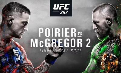 UFC 257 Poirier vs McGregor 2 - Résultats des combats