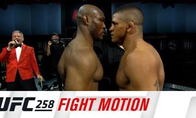 UFC 258 - Fight Motion - Revivez le Best Of des combats au ralenti
