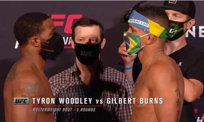 UFC on ESPN 9 - Vidéo de la pesée