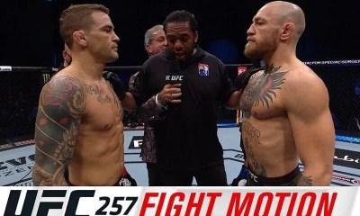 UFC 257 - Fight Motion - Replay HL des combats Poirier vs McGregor 2 et Chandler vs Hooker