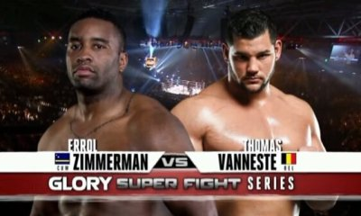 Thomas Vanneste vs Errol Zimmerman - Full Fight Video - GLORY 26
