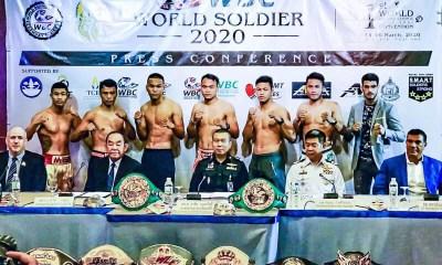 WBC World Soldier  - Un événement énorme avec BOUGHANEM vs SORGROW, SITTHICHAI et YODWICHA