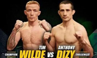 Anthony DIZY vs Tim WILDE - Combat de MMA - GOLDEN Ticket Fight VIDEO