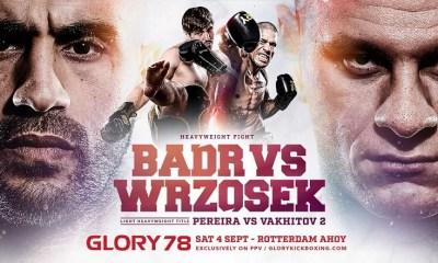 Badr Hari vs Arkadiusz Wrzosek, nouvelle date officialisée pour le Glory 78