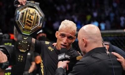Charles Oliveira assomme Michael Chandler et devient champion de l'UFC