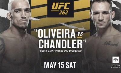 UFC 262 Résultats - Oliveira vs Chandler