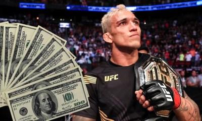 UFC 262 Salaires - Charles Oliveira empoche 875 000 dollars