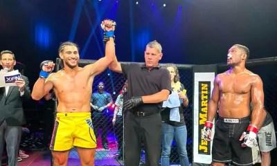 MMA - Dylan Salvador détruit Joshua Anderson au premier round