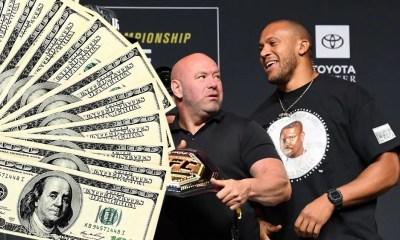 UFC 265 Salaires: Ciryl Gane empoche près d'un demi million de dollars