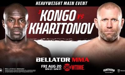 Cheick Kongo vs Sergei Kharitonov au Bellator 265