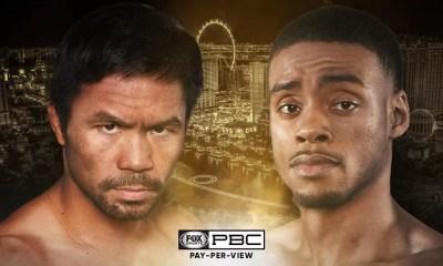 Manny Pacquiao vs Errol Spence Jr confirmé pour le 21 aout.