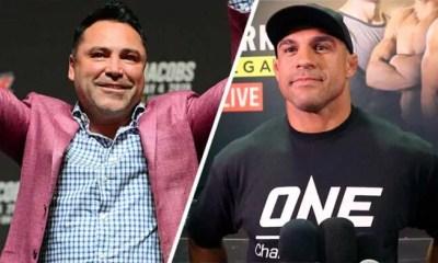 Oscar De La Hoya vs Vitor Belfort annoncé pour le 11 septembre