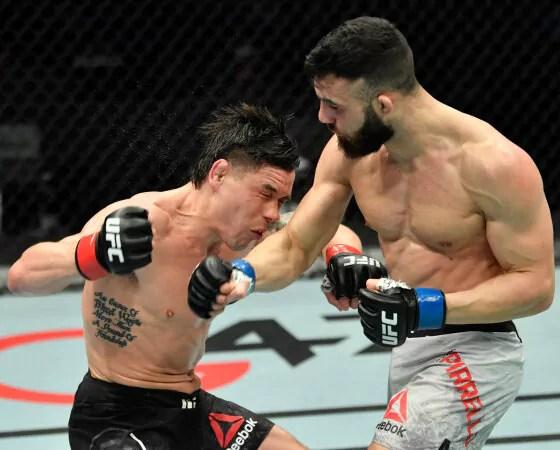 UFC - Gaetano Pirrello vs Douglas Silva de Andrade en préparation pour le 2 octobre