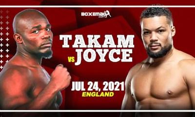 Carlos Takam vs Joe Joyce prévu le 24 juillet