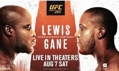 UFC 265 Résultats Ciryl Gane vs Derrick Lewis