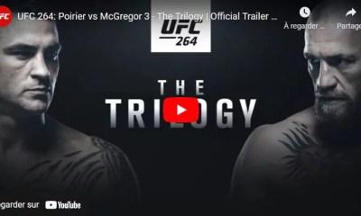 La bande annonce officielle de l'UFC 264 vient d'être publiée avec Dustin Poirier et Conor McGregor