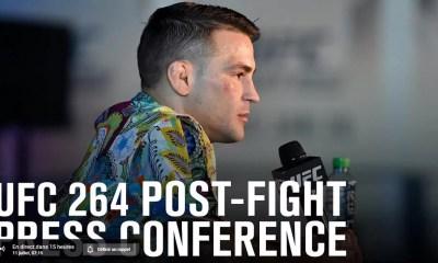 UFC 264 - Poirier vs McGregor 3 - Regardez la conférence de presse d'après combat en direct