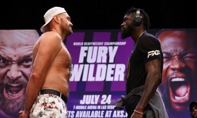 Direct fury wilder